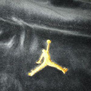 Jordan Sweaters - Jordan x Carmelo Anthony velour zip up.